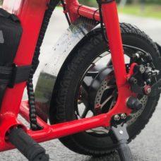 Carbonrevo Carbon Fibre Rear Splash Guard for Fiido