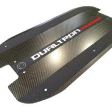 Dualtron Thunder Carbon Deck - Matte w Grip Tapes