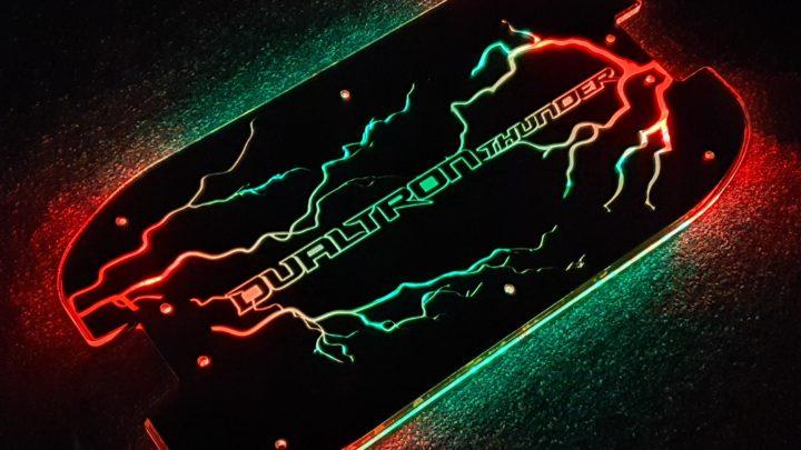 Dualtron Thunder 3D Led Deck - Litchenberg Style