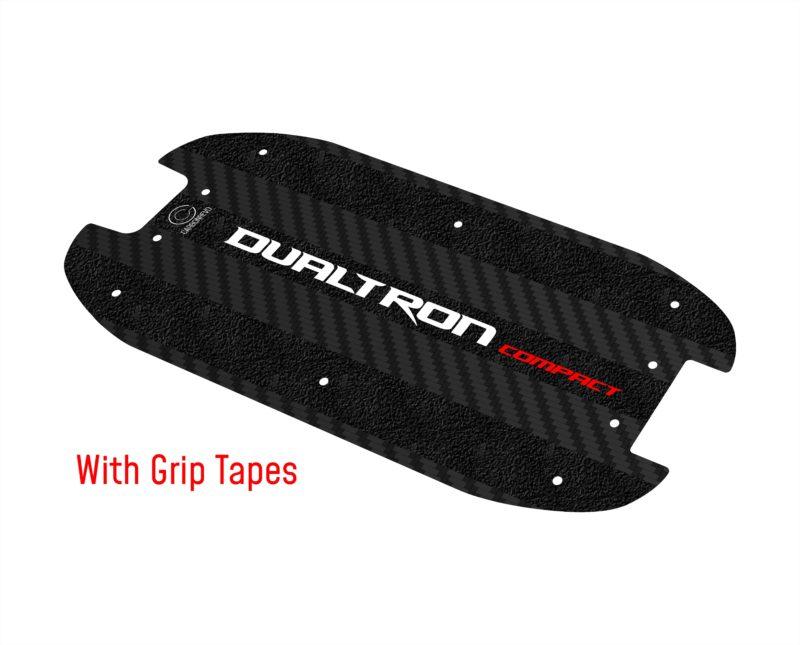 Dualtron Compact Carbon Fibre Deck with Grip Tapes