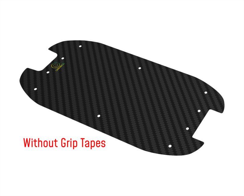 Dualtron Compact Carbon Fibre Deck without Grip Tapes