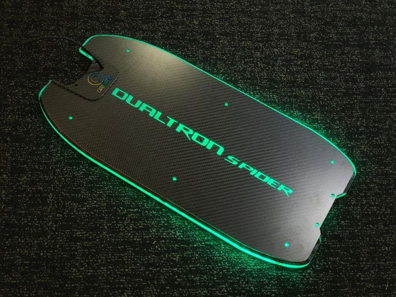 Dualtron Spider 3D LED - Carbon Top