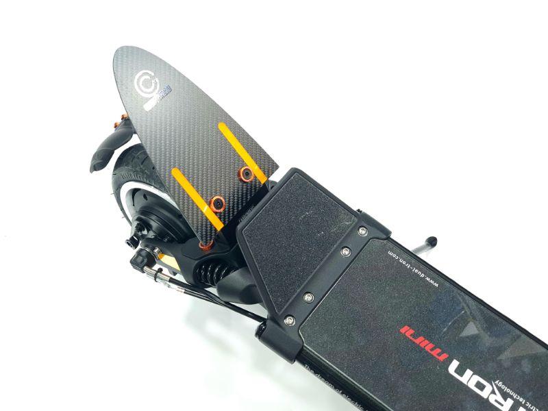 Dualtron Mini Rear Mudguard & Hugger.